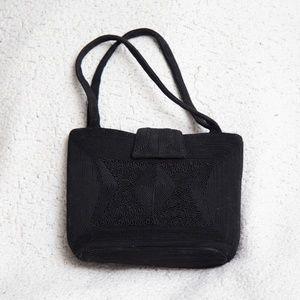 Black Vintage Pocketbook